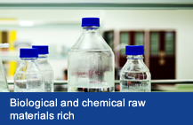 Biological and chemical raw materials rich